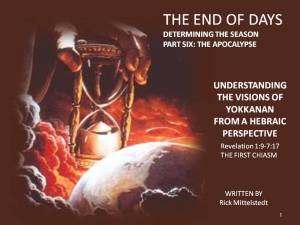 6 END OF DAYS COVER