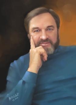 Rick Mittelstedt self portrait