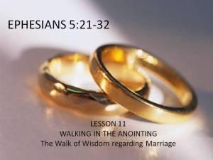 Lesson 11: The Walk of Wisdom Regarding Marriage